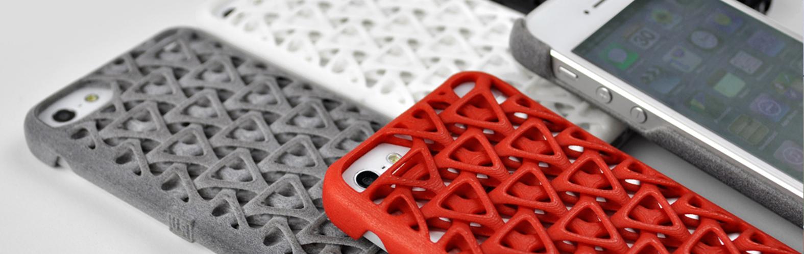 پرینت سه بعدی قاب گوشی