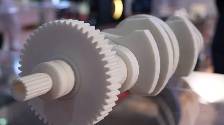 میل لنگ پرینت سه بعدی SLS