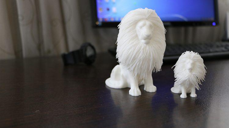 شیر جنگل پرینت سه بعدی FDM