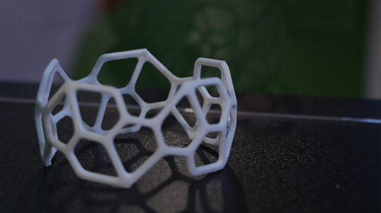 دستبند پرینت سه بعدی SLS