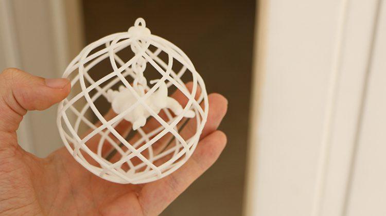 سانتا پرینت سه بعدی SLS