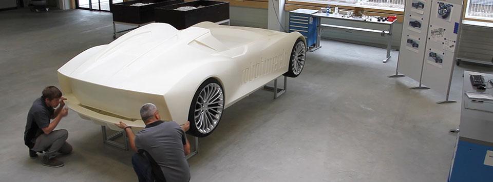 کاربرد نمونه سازی سریع در خودروسازی