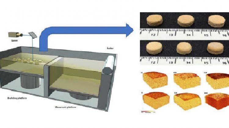 تولید دارو با پرینتر سه بعدی