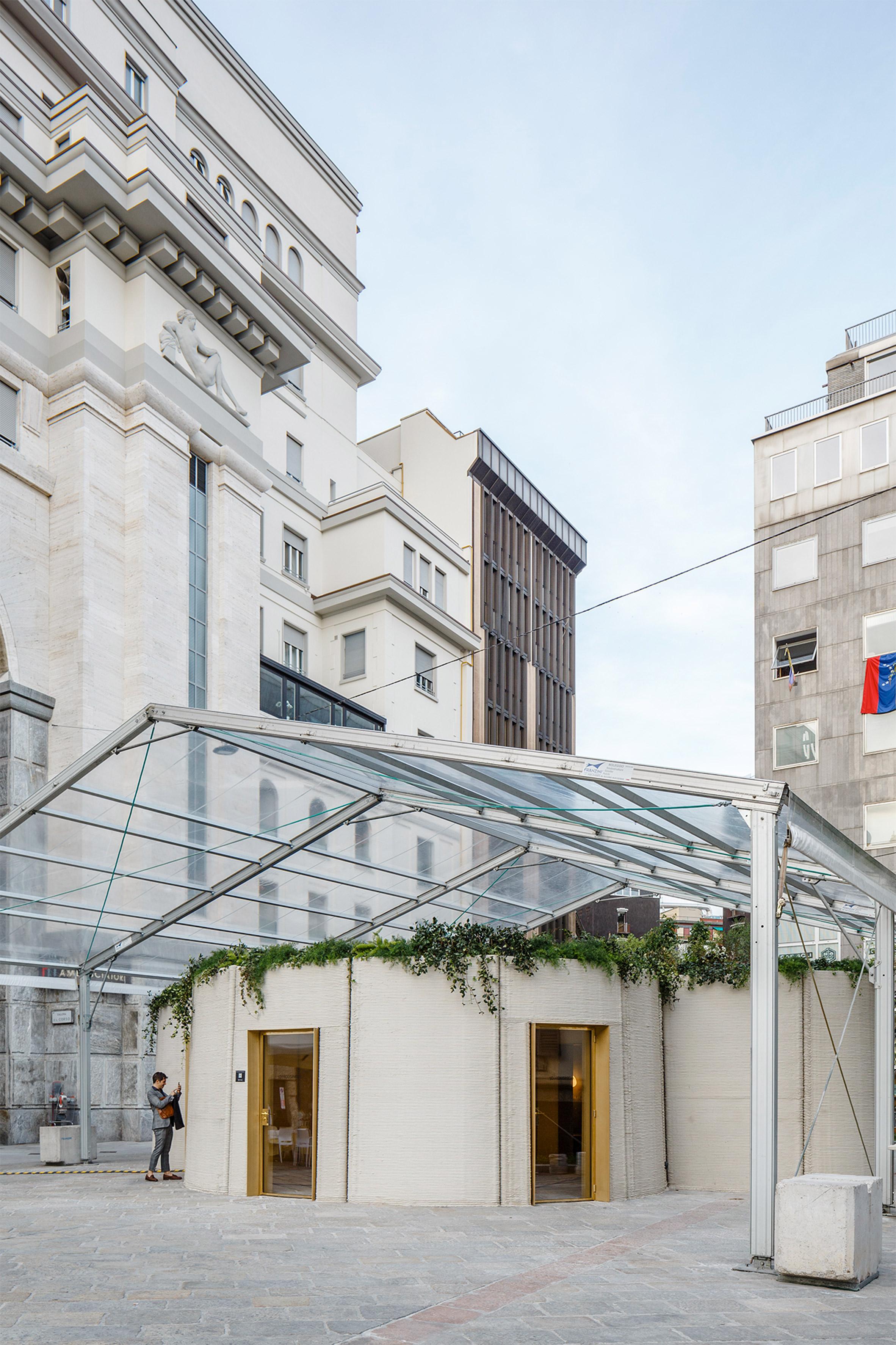 پرینت سه بعدی خانه ای در نمایشگاه میلان
