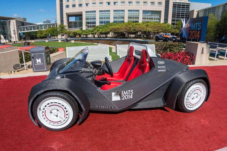 پرینت سه بعدی خودرو Strati