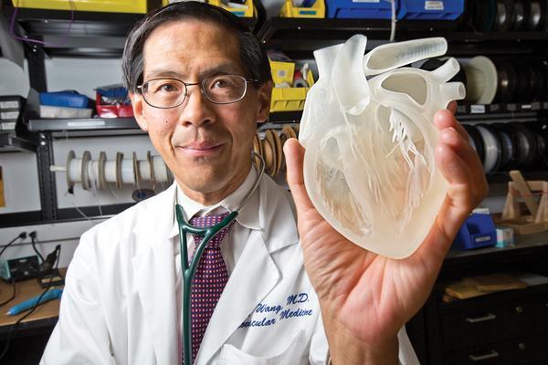 پرینت سه بعدی مدل قلب انسان