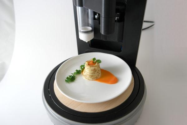 پرینت سه بعدی غذا