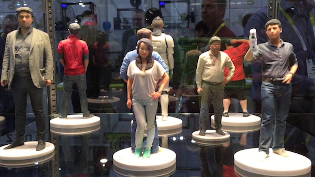 پرینت سه بعدی نمونه خود
