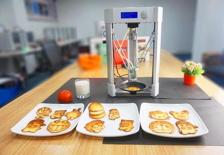 چاپگر سه بعدی غذا