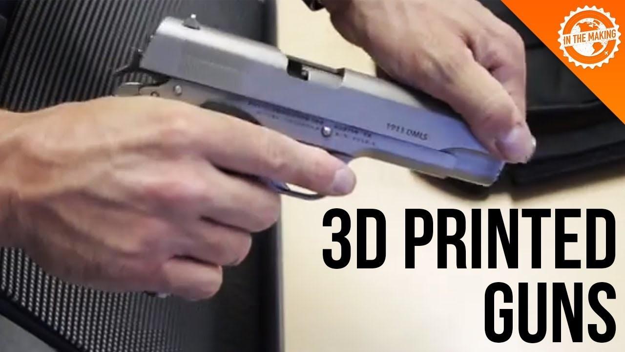 چاپ سه بعدی اسلحه
