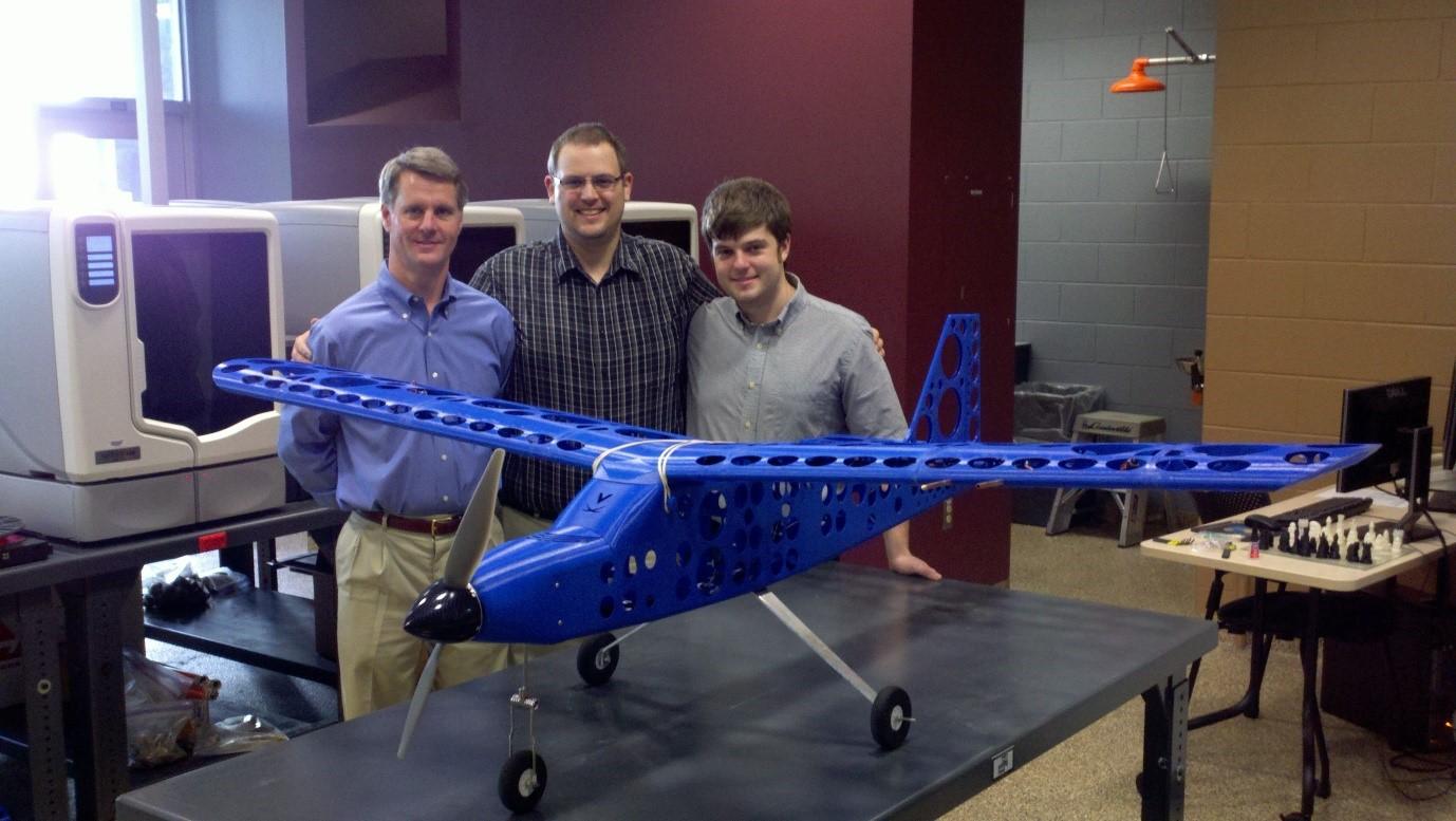 چاپ سه بعدی هواپیما
