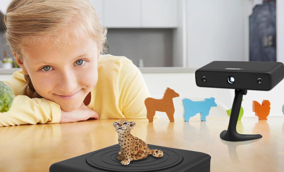 کاربردهای اسکن سه بعدی در آموزش