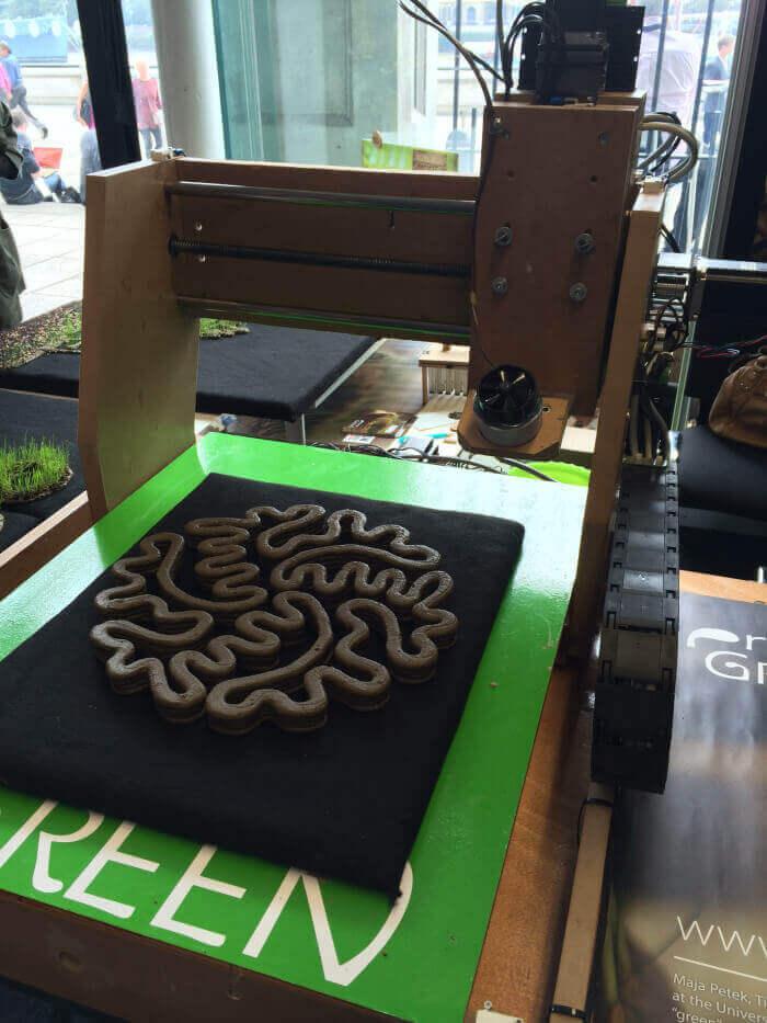 پرینتر سه بعدی خاک