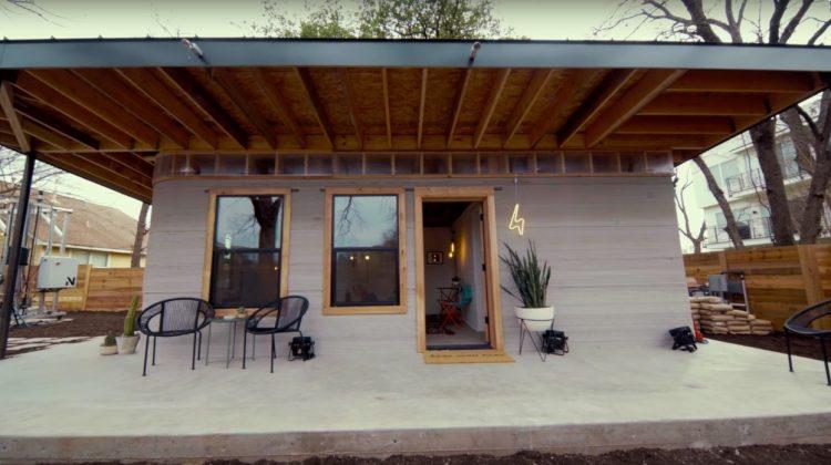 پرینتر سه بعدی و ساخت خانه