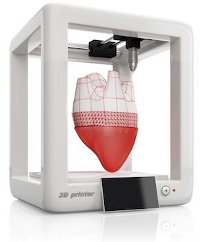 چاپ سه بعدی زیستی قلب