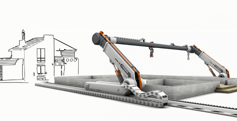 پرینتر سه بعدی در صنعت ساختمان سازی