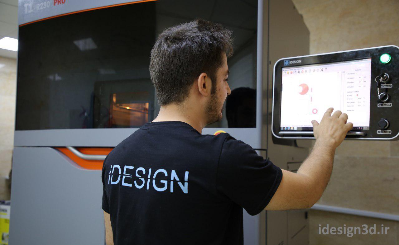 پرینتر سه بعدی SLS تیوان ایرانی