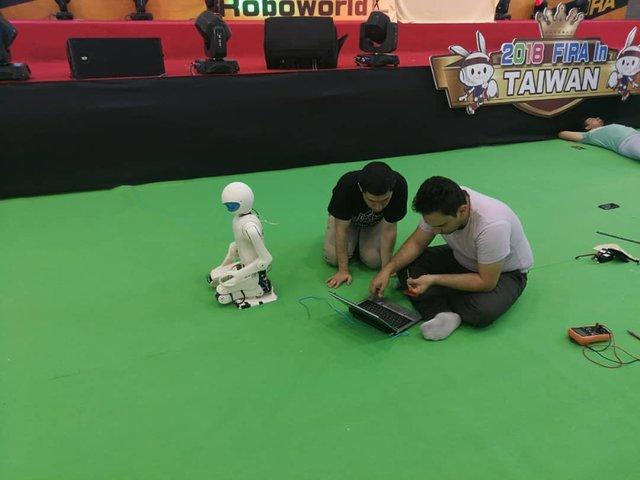 پرینت سه بعدی ربات ایرانی