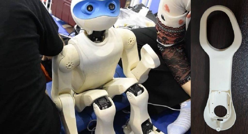 پرینت سه بعدی ربات فوتبالیست در ایران