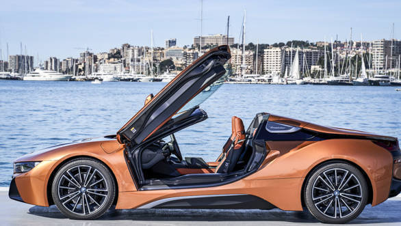 BMW-i8-Roadster-پرینت سه بعدی سقف