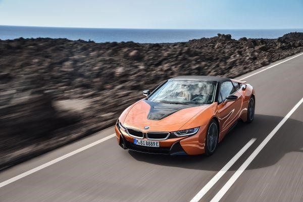 BMW i8 Roadster پرینت سه بعدی سقف