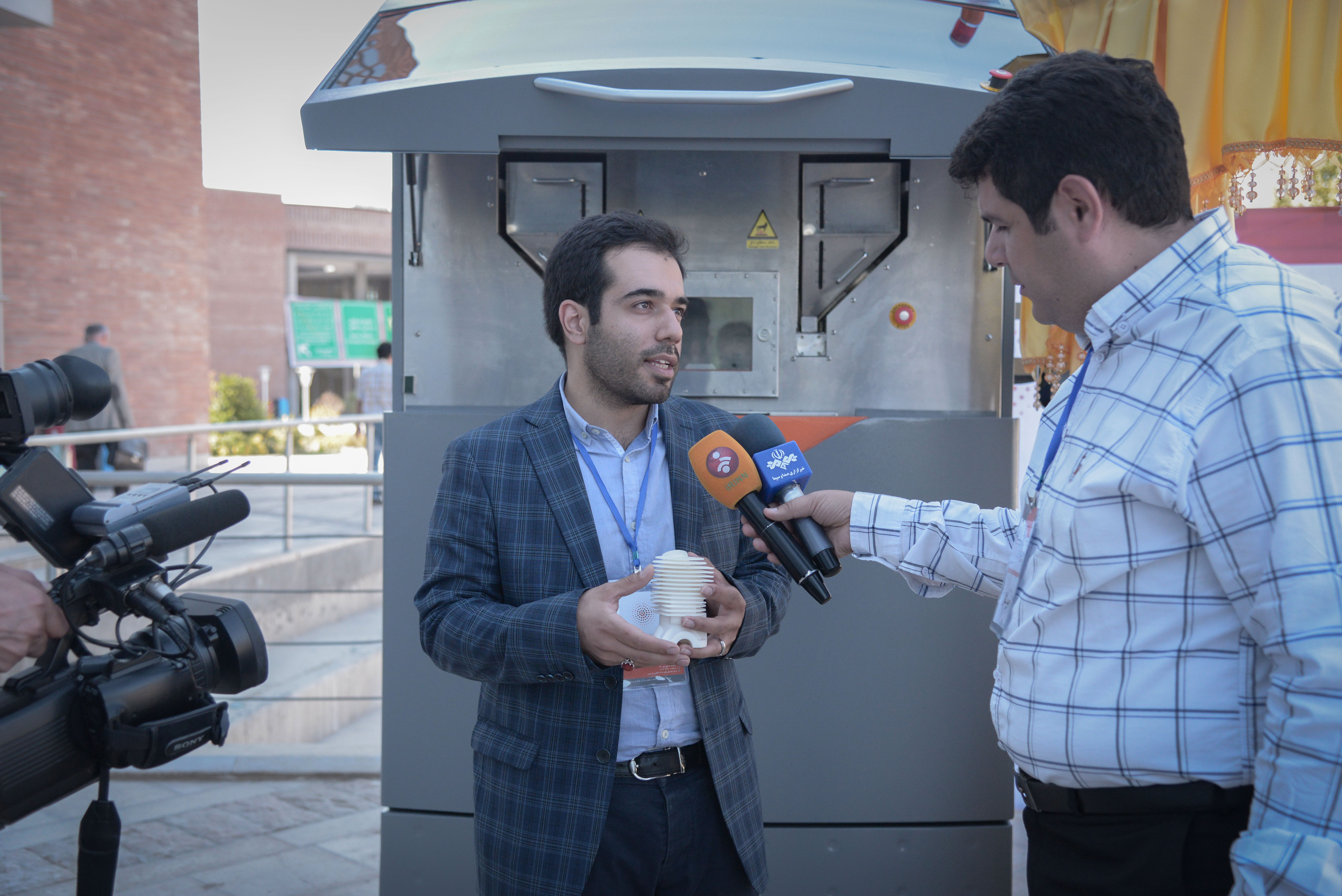 رونمایی از دستگاه پرینتر سه بعدی SLS ایرانی تیوان R230 در پارک فناوری پردیس