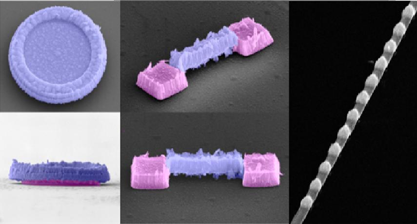 پرینت نانو سه بعدی با استفاده از لیتوگرافی یخ