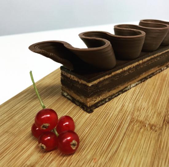 پرینت ۳ بعدی شکلات