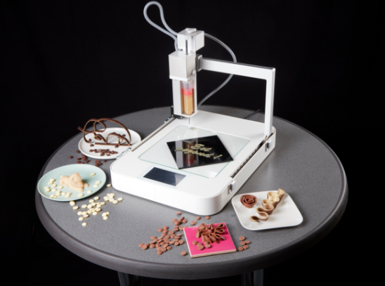 چاپگر سه بعدی شکلات ByFlow