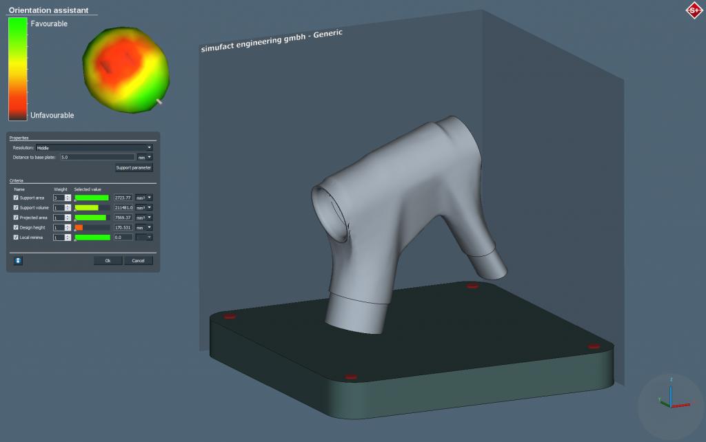 تولید نرم افزار جهت بهبود فرآیندهای پرینت سه بعدی فلزات