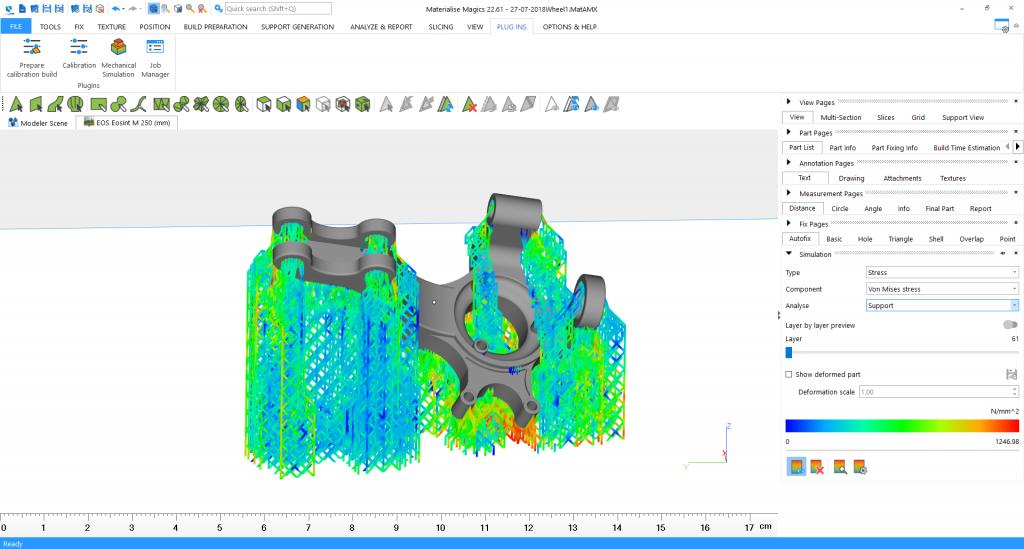 نرم افزار simufact برای پرینت سه بعدی فلزات