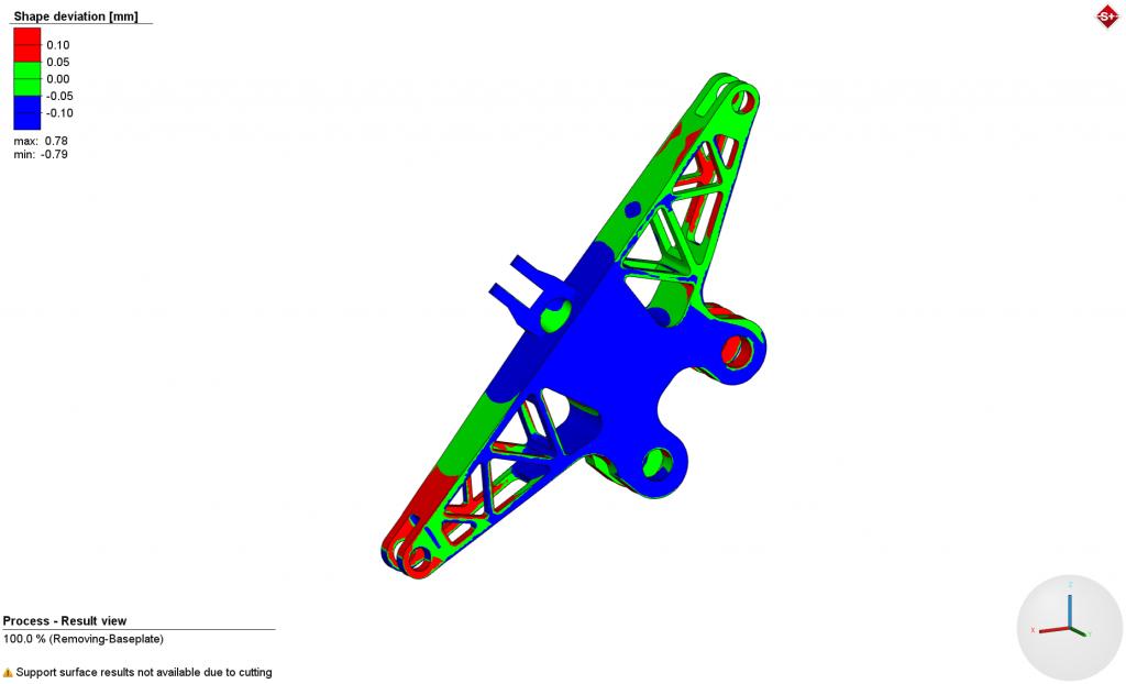نرم افزار simufact برای پرینت ۳ بعدی فلزات