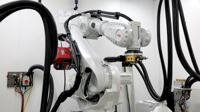 خدمات پرینتر سه بعدی رباتیکی