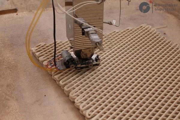 پرینت سه بعدی بزرگ ترین پل عابر
