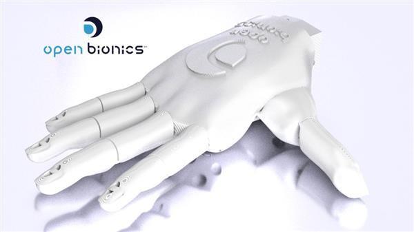 پرینت سه بعدی پروتز دست ارزان قیمت!