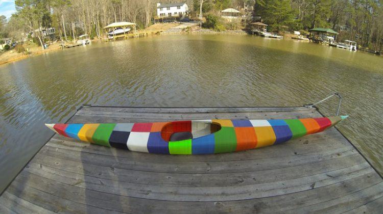 پرینت ۳ بعدی اولین قایق کایاک