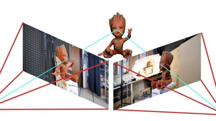 اسکن سه بعدی جسم با تلفن همراه یا دوربین
