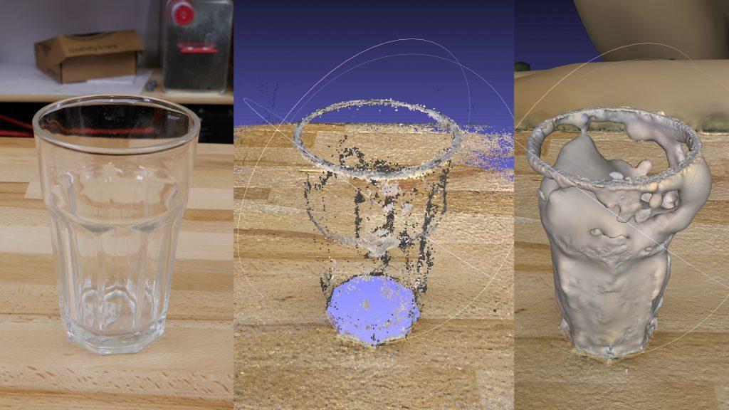 اسکن سه بعدی جسم با تلفن همراه