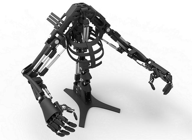 پرینت سه بعدی دست رباتیک