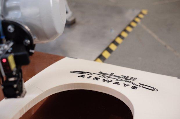 پرینت سه بعدی قطعات هواپیمای ایرباس A320