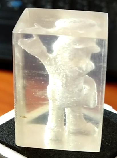 پرینت سه بعدی قطعه کاملا شفاف