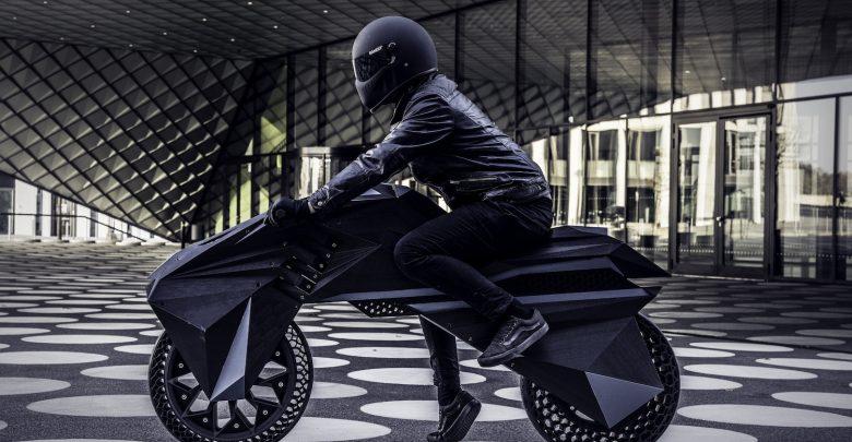 پرینت سه بعدی موتورسیکلت الکتریکی