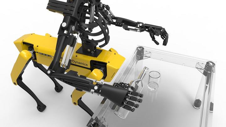 پرینت سه بعدی و تلفیق دو ربات