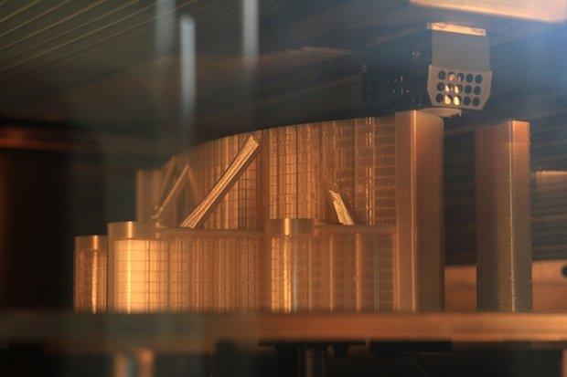 پرینت سه بعدی پنل های هواپیمای ایرباس A320
