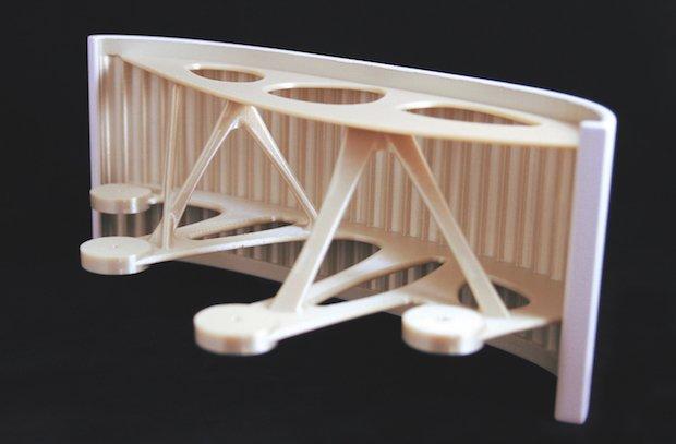 پرینت سه بعدی پنل های هواپیمای ایرباس