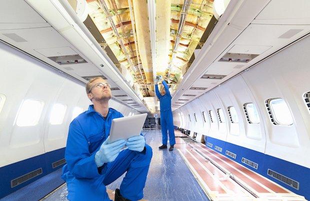 چاپ سه بعدی قطعات هواپیما