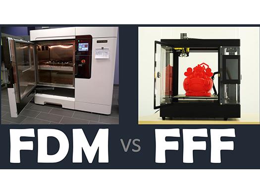 تفاوت میان پرینت سه بعدی FFF و FDM
