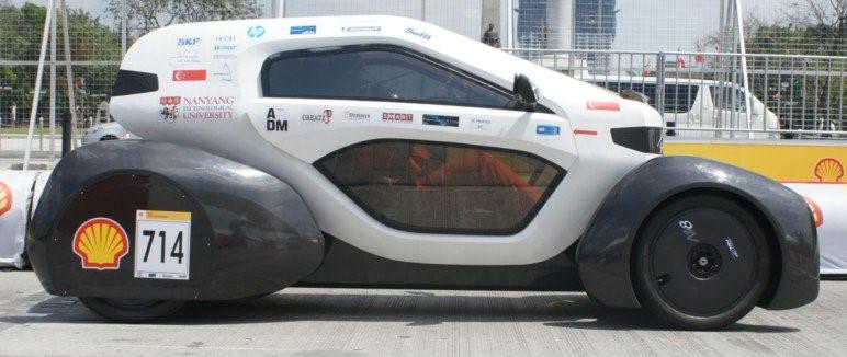 پرینت سه بعدی خودرو Nanyang Venture 8