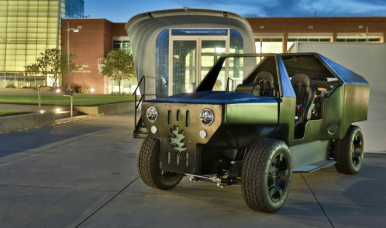 پرینت سه بعدی خودرو PUV