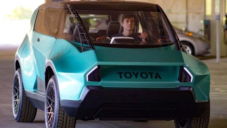 پرینت سه بعدی خودرو Toyota uBox